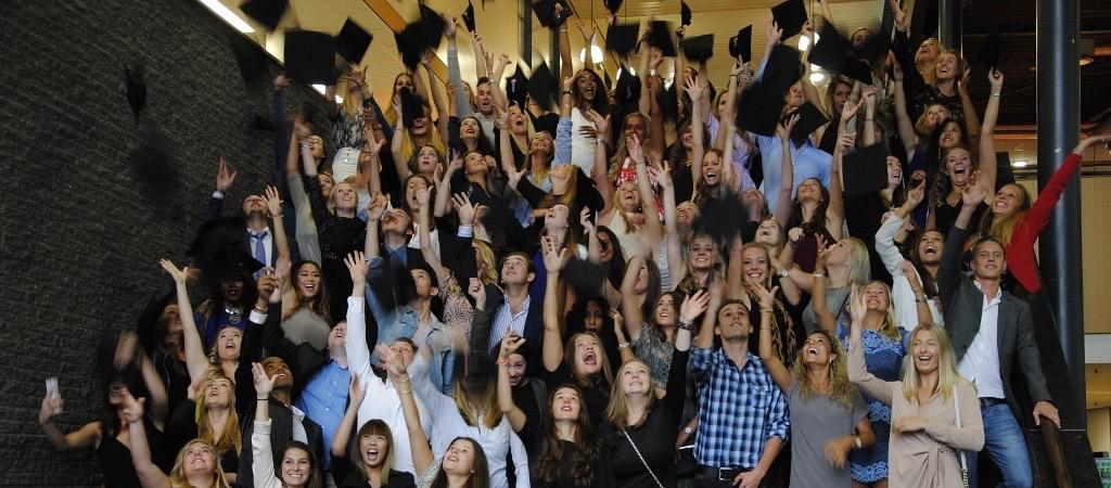 #13 Ondertussen… tijdens de diploma-uitreiking