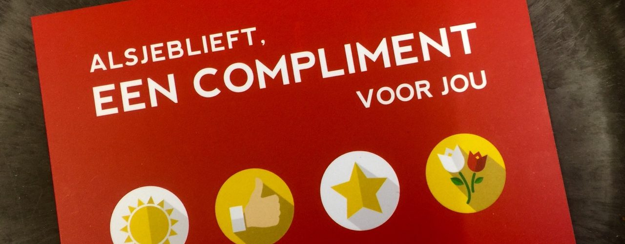 Compliment aan Olmo Linthorst