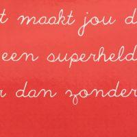 Compliment aan Mirjam den Boer