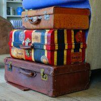 De koffer van.. Laura