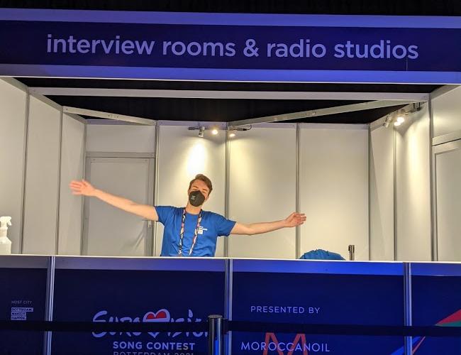 #Ondertussen – achter de schermen bij het Eurovisie Songfestival #2